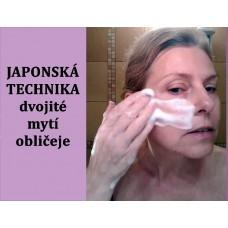Videokurz Japonská technika mytí obličeje